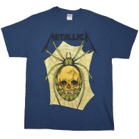 METALLICA Spider Skull Tシャツ