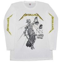 METALLICA ...And Justice For All ロングスリーブ Tシャツ