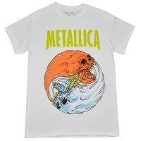 METALLICA Fire And Ice Tシャツ