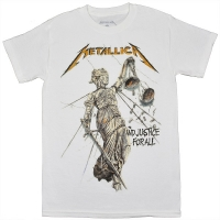 METALLICA ...And Justice For All Tシャツ 2 WHITE