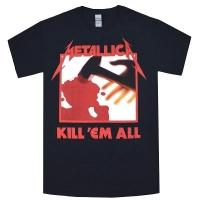 METALLICA Kill' Em All Tracks Tシャツ