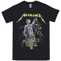 METALLICA And Justice For All Tracks Tシャツ