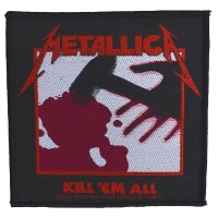 METALLICA Kill' Em All Patch ワッペン