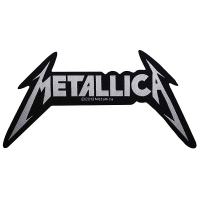 METALLICA Shaped Logo Patch ワッペン