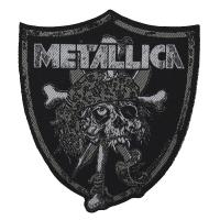 METALLICA Raiders Skull Patch ワッペン