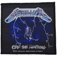 METALLICA Ride The Lightning Patch ワッペン
