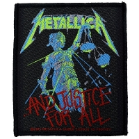 METALLICA ...And Justice For All Patch ワッペン