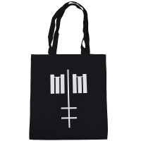 MARILYN MANSON Cross Logo トートバッグ