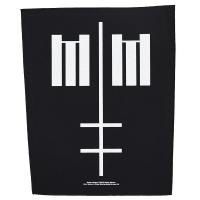 MARILYN MANSON Cross Logo バックパッチ