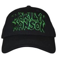 MARILYN MANSON Logo ベースボールキャップ