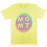 MGMT Op-Art YELLOW Tシャツ