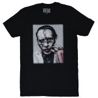 MARILYN MANSON Painted Face Euro Tour 2018 Tシャツ