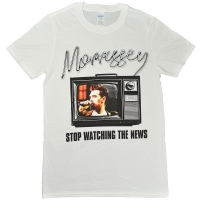 MORRISSEY Stop Watching The News Tシャツ
