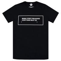 MANIC STREET PREACHERS Everything Must Go Monochrome Tシャツ