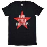 MANIC STREET PREACHERS Red Star Logo Tシャツ