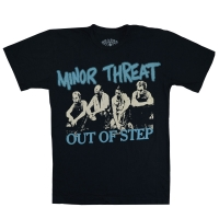 MINOR THREAT Out Of Step Photo Tシャツ