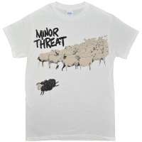 MINOR THREAT Out Of Step Tシャツ
