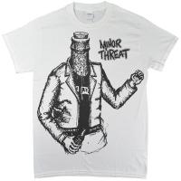 MINOR THREAT Bottleman Tシャツ