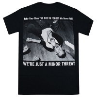 MINOR THREAT Just A Tシャツ