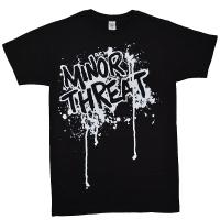 MINOR THREAT Drips Tシャツ
