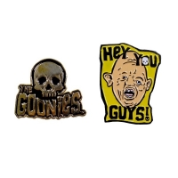 THE GOONIES Skull And Sloth 2Pack ピンバッジセット