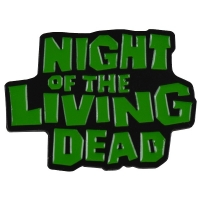 NIGHT OF THE LIVING DEAD Logo ピンバッジ