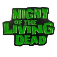 NIGHT OF THE LIVING DEAD Logo ピンバッジ