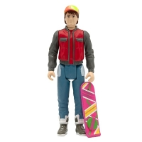 BACK TO THE FUTURE Marty Mcfly Future リアクション フィギュア SUPER7