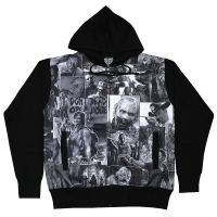 THE WALKING DEAD Classic Image Sublimation ZIP フード パーカー