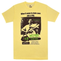 THE TEXAS CHAINSAW MASSACRE 悪魔のいけにえ Cuts Like A Sawyer Tシャツ