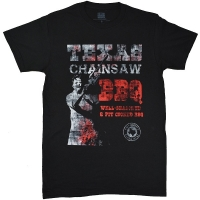 THE TEXAS CHAINSAW MASSACRE 悪魔のいけにえ BBQ Texas Chainsaw Tシャツ