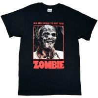 ZOMBIE サンゲリア Full Color Poster Tシャツ