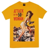 ATTACK OF THE 50 FOOT WOMAN 妖怪巨大女 Poster Tシャツ
