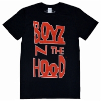 BOYZ N THE HOOD Vertical Logo Tシャツ