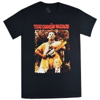 THE TEXAS CHAINSAW MASSACRE 悪魔のいけにえ Leatherface & Grandpa Tシャツ
