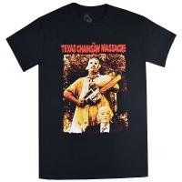 THE TEXAS CHAINSAW MASSACRE 悪魔のいけにえ Leatherface & Grandpa Tシャツ