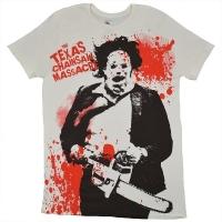THE TEXAS CHAINSAW MASSACRE 悪魔のいけにえ Spatter Tシャツ