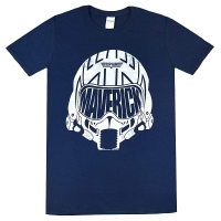 TOP GUN White Mav Helmet Tシャツ