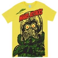 MARS ATTACKS! Big Yellow Martian Tシャツ