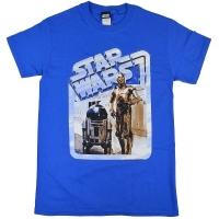 STAR WARS Droids Retro Badge Tシャツ