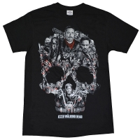 THE WALKING DEAD Skull Montage Tシャツ