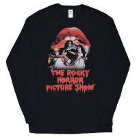 THE ROCKY HORROR SHOW Casting Throne ロングスリーブ Tシャツ