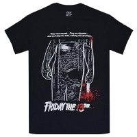 FRIDAY THE 13TH 13日の金曜日 Bloody Poster Tシャツ