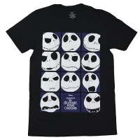 THE NIGHTMARE BEFORE CHRISTMAS Blockheads Tシャツ