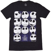 B品 THE NIGHTMARE BEFORE CHRISTMAS Blockheads Tシャツ