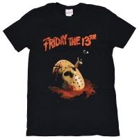 FRIDAY THE 13TH 13日の金曜日 Dagger Tシャツ