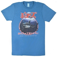 JAWS Japanese Warning Tシャツ