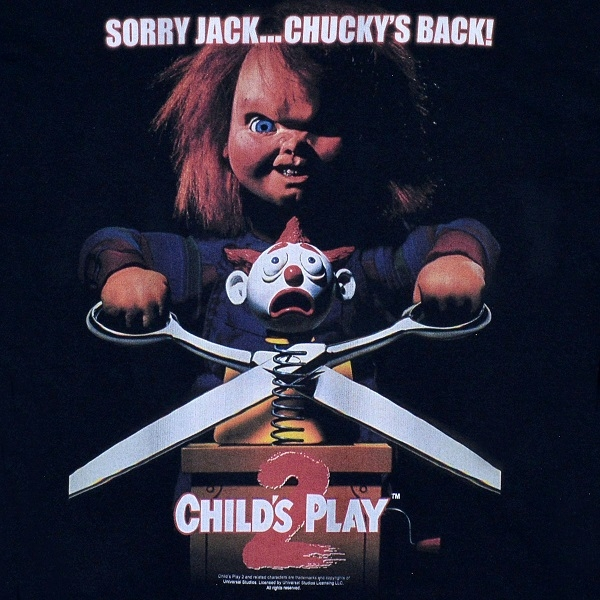 CHILDS PLAY2 Chuckys ロンT2