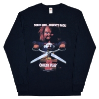 CHILD'S PLAY Chucky's Back ロングスリーブ Tシャツ