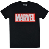 MARVEL COMICS Box Logo Tシャツ